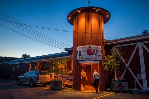 Cider Mill reopens after fire put out by extinguisher